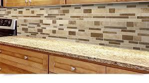 TRAVERTINE SUBWAY MIX Backsplash Tile Ivory Beige Brown - Brown tile backsplash