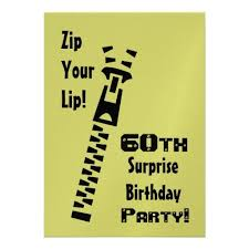 free printable 60th birthday surprise party invitations ideas