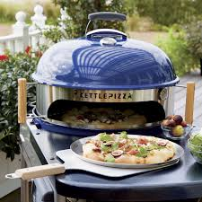 Backyard Pizza Oven Kit by Kettlepizza Deluxe Usa Outdoor Pizza Oven Kit Baking Stone