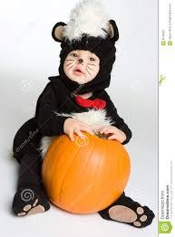 baby halloween pumpkin stock image image 6746361