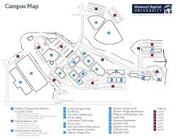 Map Performance Missouri Baptist University Main Campus Facility Map Mbu