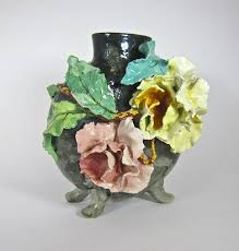 Vase French Images Of Clay Vases French Art Pottery Vase At 1stdibs Vases