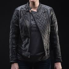 armored leather motorcycle jacket roland sands design women u0027s leather motorcycle jacket