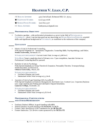 Best Resume Format Career Change by Best Career Change Resume Example Augustais