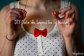 bow tie necklace images Diy doctor who inspired bow tie necklace three chic geeks jpg