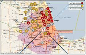 Chicago Demographics Map by Chicago Fire Growing The Customer Base Geostrategies Inc