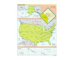 Map Of Usa And Hawaii by Maps Of Usa Detailed Map Of United States Of America In English