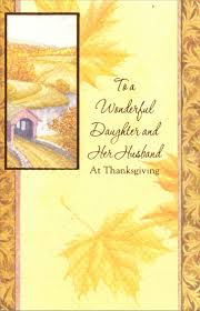 covered bridge thanksgiving card by freedom greetings