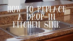 Brown Kitchen Sink How To Install A Drop In Kitchen Sink