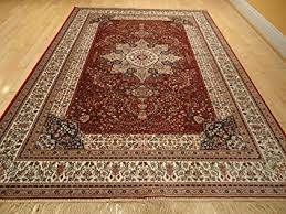 Red Oriental Rug Living Room Amazon Com Luxury Red Silk Area Rugs For Living Room Traditional