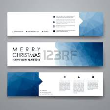 set of modern design banner template in christmas style beautiful