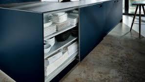 next125 german kitchen in indigo blue glass nx902 from gideon