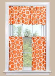 Blackout Kitchen Curtains Orange Kitchen Curtains Drapes Tchen Decoration Ideas