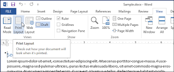 layout view zoom how to view multiple pages at once in word