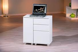 bureau ordinateur blanc laqué bureau informatique design extensible laqué blanc lally bureau