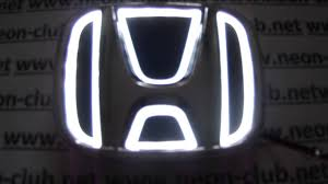 honda logos honda parts u0026 accessories car led logo for new fit odyssey