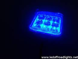 led work lights for trucks 27w ip67 4d blue led work light blue lighting work ls blue led