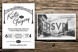 Post Card Invitations Arch City Wedding Invitation And Postcard Rsvp Columbus