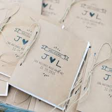 program paper rustic wedding programs