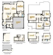 images of floor plans new homes for sale pflugerville 78660 avalon floor plans