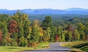 Table Rock Maine Grandview Peaks Blue Ridge Mountains Community Nebo Nc
