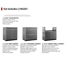 Newage Products Stainless Steel Classic 5 Piece 160x36x24 In by 100 New Age Outdoor Kitchen Haylett Auto And Rv Supercenter