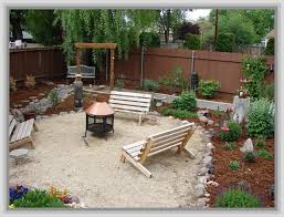 Cheap Backyard Patio Ideas Backyard Ideas On A Budget Homes