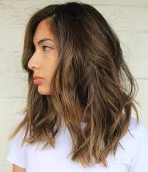 light brown hair with layers women medium haircut