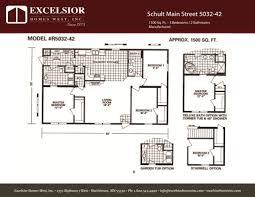 schult main street 5032 42 excelsior homes west inc