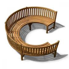 Garden Wood Chairs Round Wood Outdoor Table
