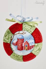 309 best kimekomi images on quilted ornaments