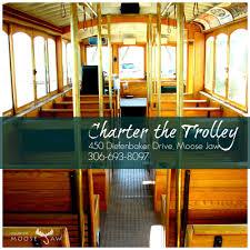 trolley u2014 tourism moose jaw