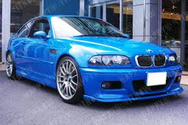 all color available 01 06 painted bmw e46 m3 h type front