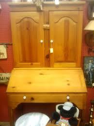 Pine Secretary Desk by Antique U2013 A U2013 Licious