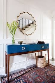 Round Foyer Table by Best 25 Modern Entryway Ideas Only On Pinterest Mid Century