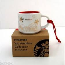 mug ornament starbucks coffee you are here espresso mini mug ornament yah