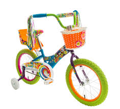 power wheels for girls titan 083 8416 u0027s flower power princess multi color 16