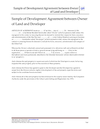 sample joint venture agreement template examples
