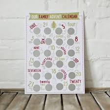 advent calendar family activity scratch and reveal advent calendar by jodie gaul