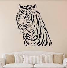 home interior tiger picture get cheap tiger wall sticker vinyl decal aliexpress
