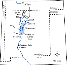 New Mexico rivers images Geologic tour heron lake state park gif