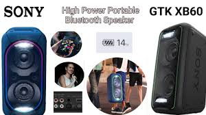 sony high powered bluetooth light up speaker gtk xb5 sony gtk xb60 high power portable bluetooth speaker new audio