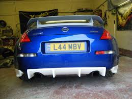 nissan 350z nismo front bumper nissan 350z z33 nismo n2 style front bumper with canards meduza
