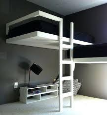 Modern White Bunk Beds  Pathfinderappco - Narrow bunk beds