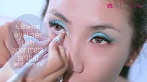 tutorial make up wardah untuk pesta make up tutorial dramatic blue eyes youtube