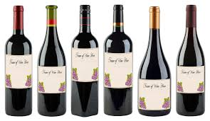 anniversary wine bottles free printable wine labels