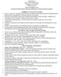 sample resume of data analyst data analyst resume samples