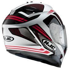 hjc motocross helmets hjc is 17 spark white black red motorcycle helmet inner sun visor