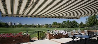 Where Are Sunsetter Awnings Made Solar Shades Retractable Awnings Patio Awnings Denver Co