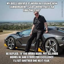 New Car Meme - dopl3r com memes my boss arrived at workin a brand nevw amazing